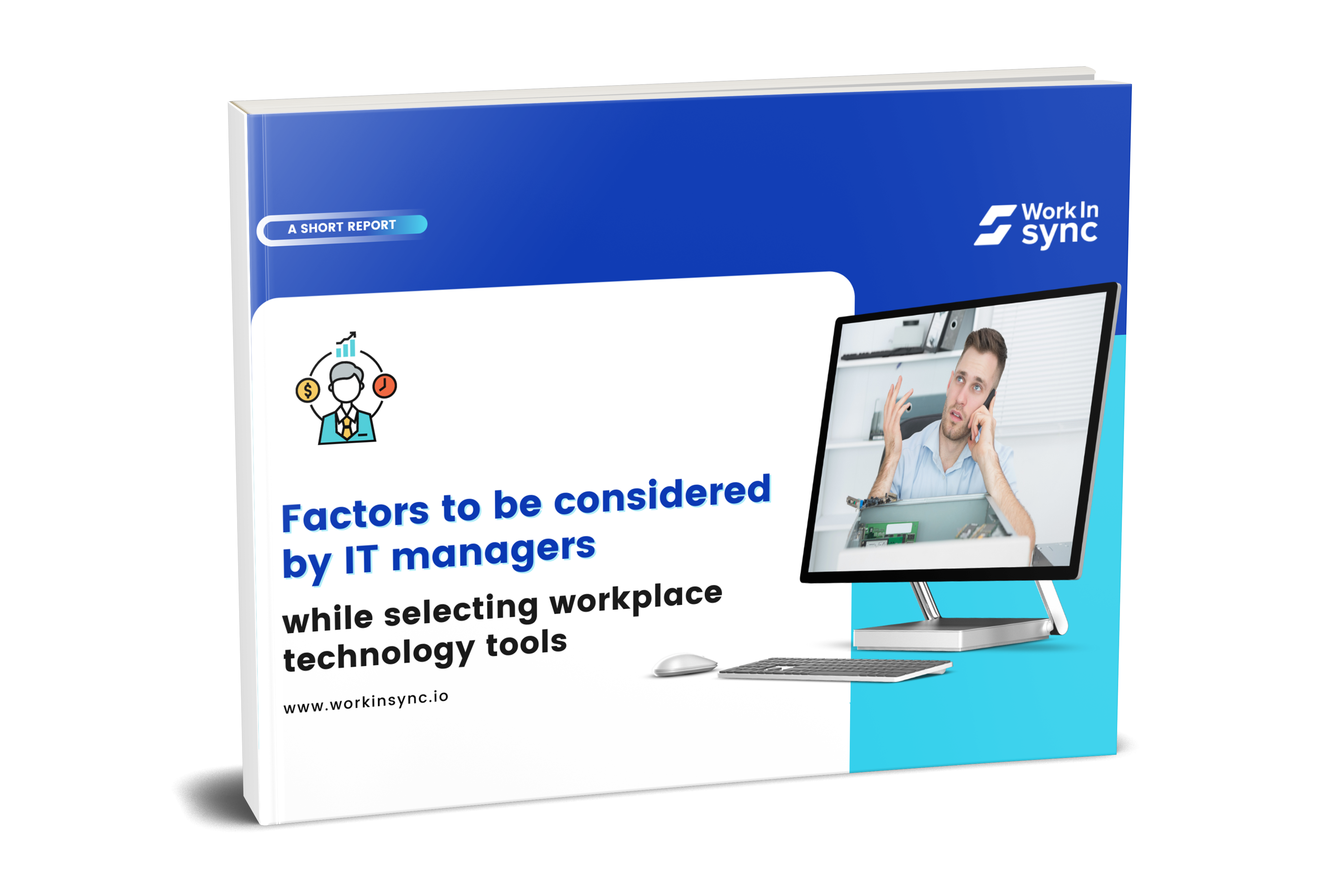 Consider These When Choosing Workplace Technology Tools 3D Image