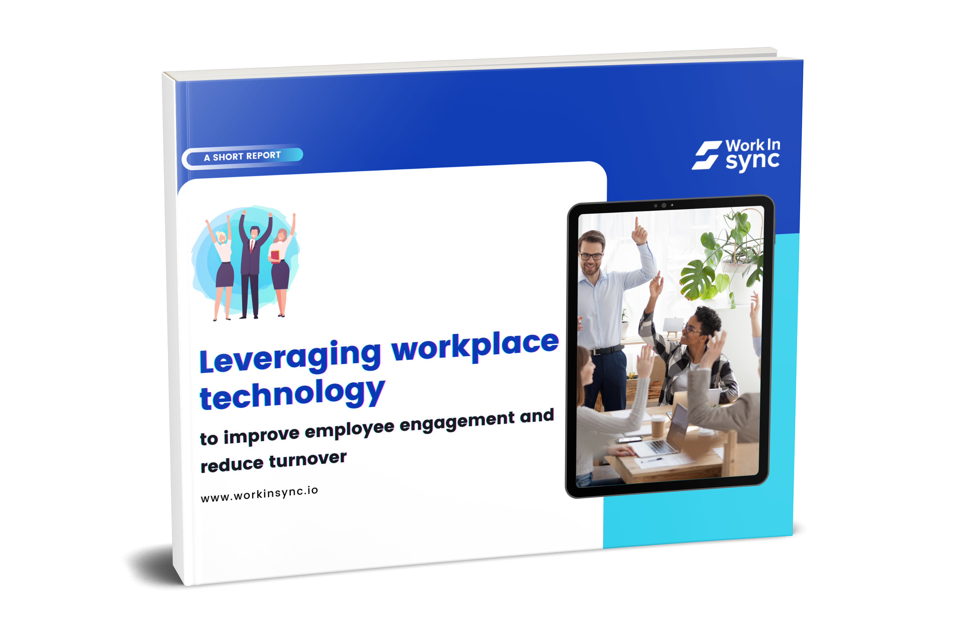 Leveraging Workplace Technology For Employee Engagement 3D Image